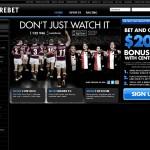 Centrebet.com Homepage