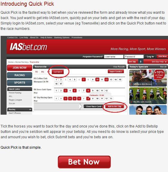 IASbet Quick Pick Information