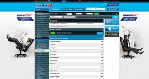 SportingBet Review Sports Page
